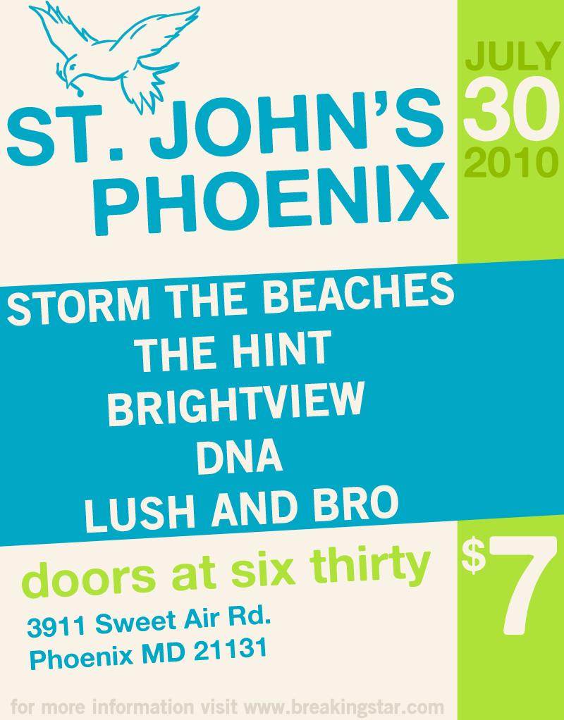 The Hint @ St. John's Phoenix - July 30, 2010
