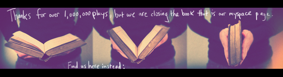 Closing The Book - Myspace