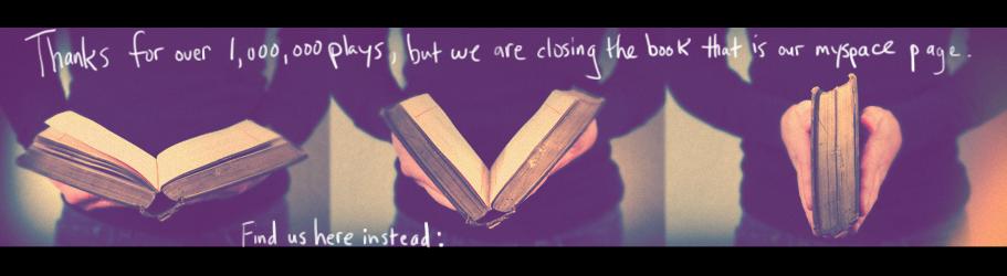 Closing The Book - Myspace