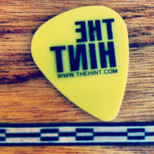 The Hint - Guitar Pick