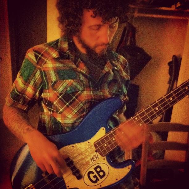 Studio - Geoff, recording
